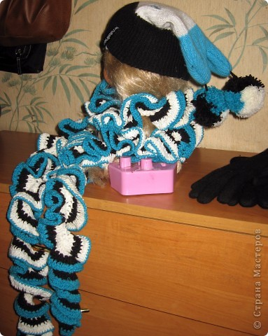 Мастер-класс, шапки, шарфы