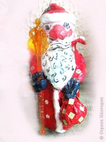 Ну, какой же Новый год без Деда Мороза? Вот я и решила провести урок лепки с детьми 4 класса.  фото 30