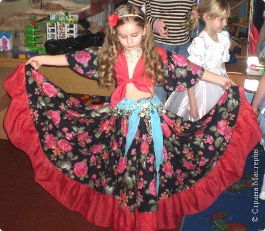 Костюм цыганки для детей своими руками