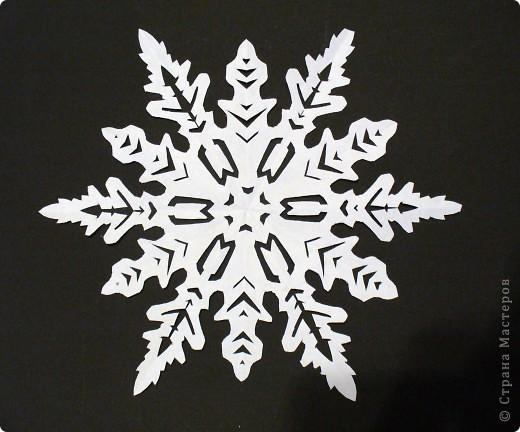 снежинки Бумага фото 2