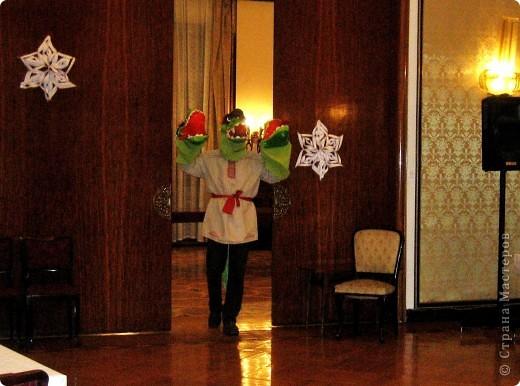 2012 Новый год - год Дракона. вот такой костюм для выступления был мной сделан к самому лучшему празднику - Новому году. фото 11