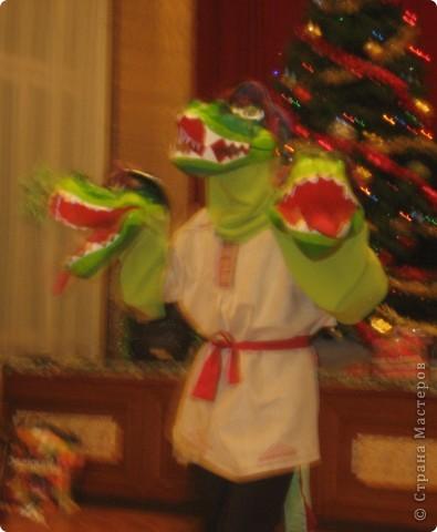 2012 Новый год - год Дракона. вот такой костюм для выступления был мной сделан к самому лучшему празднику - Новому году. фото 2