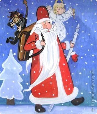 Традиция отмечать праздник Новый Год сущесвтует в каждой стране. И куда бы вы не отправились, везде вы можете отлично встретить новый год, причем сделать это самыми разными традициями. Сегодня в нашем праздничном материале-сюрпризе для вас - названия Дедов Морозов самых разных странах. Чтобы в вашем путешествии, вы могли не только праздновать, но и знать, с кем встречаете Новый год. С наступающим! Перед вами рисунки с изображением Дед Морозов разных стран, которые выполнили учажиеся нашей школы под руководством педагогов: куготовой Т.А., Шавва е.Ю., Дорофееевой М.Ю.   фото 4