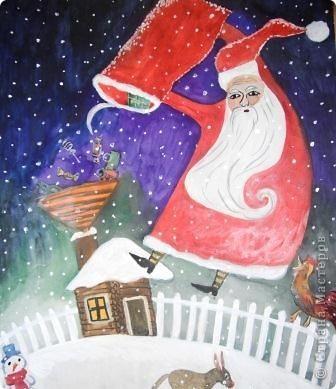 Традиция отмечать праздник Новый Год сущесвтует в каждой стране. И куда бы вы не отправились, везде вы можете отлично встретить новый год, причем сделать это самыми разными традициями. Сегодня в нашем праздничном материале-сюрпризе для вас - названия Дедов Морозов самых разных странах. Чтобы в вашем путешествии, вы могли не только праздновать, но и знать, с кем встречаете Новый год. С наступающим! Перед вами рисунки с изображением Дед Морозов разных стран, которые выполнили учажиеся нашей школы под руководством педагогов: куготовой Т.А., Шавва е.Ю., Дорофееевой М.Ю.   фото 5