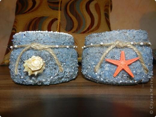 Поделки из морской соли