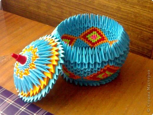 Подделки из модуля оригами
