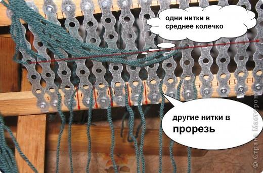 Экспериментальный образец Ткацкого станка!!!! КАК только выйду из отпуска, то сразу начну покупать нужные досочки и палочки, а пока такой станок соорудил сегодня!!  фото 5