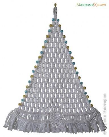 Рождество Макраме Панно