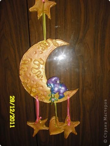 луна из соленого теста фото 3