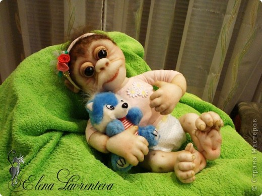 Обезьянки игрушки своими руками фото