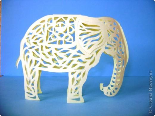Этот слон сделан по шаблону Зульфии Дадашовой.Ссылка на работу ниже. фото 1