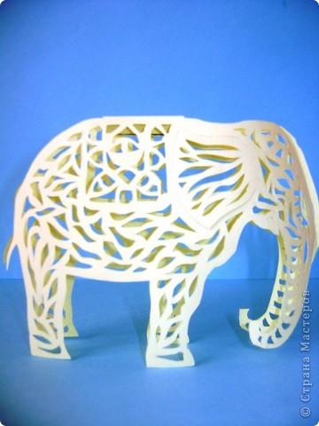 Этот слон сделан по шаблону Зульфии Дадашовой.Ссылка на работу ниже. фото 3
