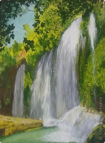 как нарисовать водопад гуашью ...: prost.pp.ua/kak-narisovat-vodopad-guashyu.html