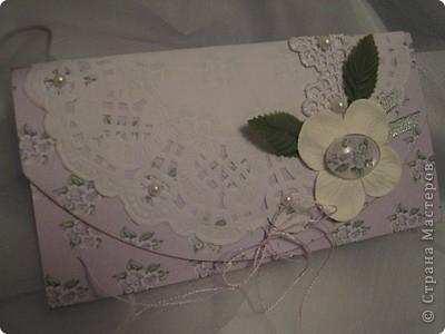 Вот еще один конвертик для денег.  фото 1