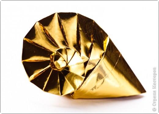 Поделка изделие Оригами Улитка