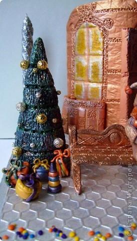 """Подсвечник """"Новогоднее настроение"""" фото 2"""