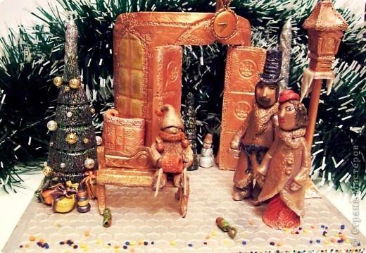"""Подсвечник """"Новогоднее настроение"""" фото 1"""