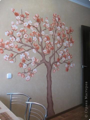 Чем украсить стену на кухне своими руками