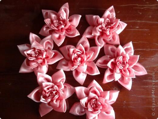 Как сшить цветы из вуали