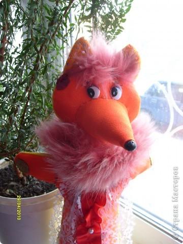 Лисичка из моркови своими руками