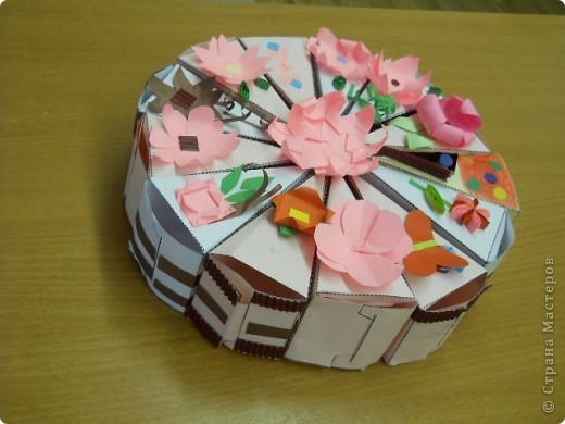 Поделка из бумаги своими руками торт