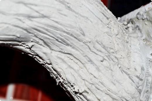 Бонсай топиарий Мастер-класс Бонсай из ниток травка Гипс Гуашь Картон Клей Нитки Проволока фото 30