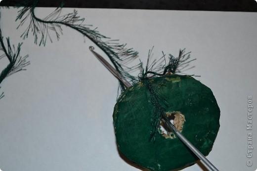 """Доброго времени суток. рада всех видеть у себя в гостях!!! Сегодня хочу вам показать как я делаю деревья с применением ниток """"травка"""". Кто заинтересовался приятного просмотра. фото 60"""