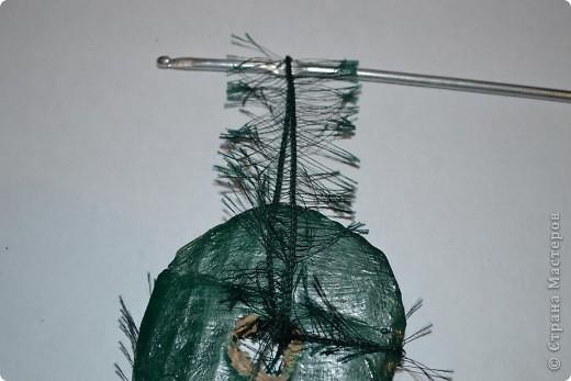 """Доброго времени суток. рада всех видеть у себя в гостях!!! Сегодня хочу вам показать как я делаю деревья с применением ниток """"травка"""". Кто заинтересовался приятного просмотра. фото 61"""
