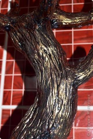Бонсай топиарий Мастер-класс Бонсай из ниток травка Гипс Гуашь Картон Клей Нитки Проволока фото 67