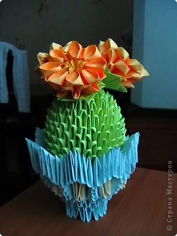 Поделка изделие Оригами китайское модульное вироби з паперу Бумага фото 6