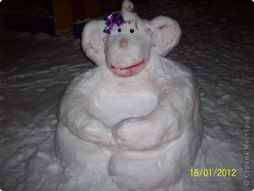 Снежные фигуры на новый год своими руками 801