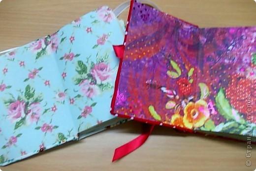 Наши чудесные блокноты, которые мы собственноручно сшили на МК Аси Мищенко фото 3