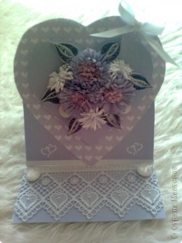 Валентинка в лила.. фото 1
