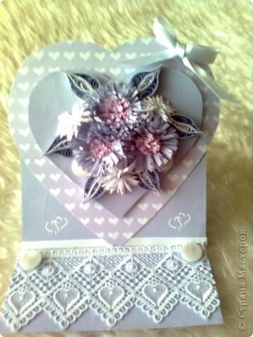 Валентинка в лила.. фото 2