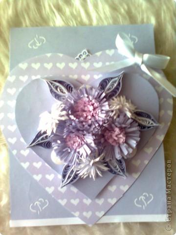 Валентинка в лила.. фото 3
