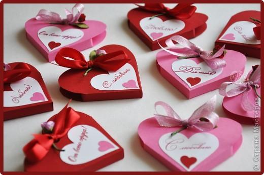 Валентинки - бонбоньерки
