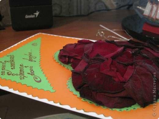"""Вот такая валентинка была сделана мной для участия в экспресс-задании """"Необычное сердце"""", проводимом на Хомячок Challenge. фото 3"""