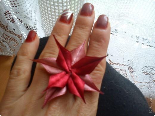 """брошка и пръстен """"Синева"""" фото 5"""