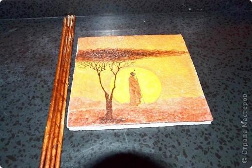 Всем доброго времени суток. Сегодня хочу Вам показать как я делаю рамки из бумажных трубочек для своих панно. Кто заинтересовался приятного просмотра))) фото 15