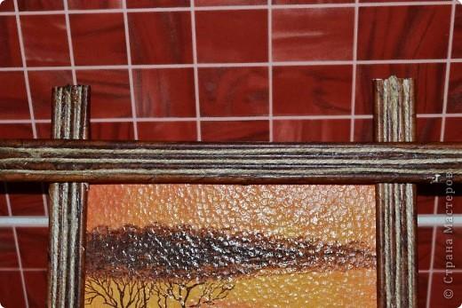 Всем доброго времени суток. Сегодня хочу Вам показать как я делаю рамки из бумажных трубочек для своих панно. Кто заинтересовался приятного просмотра))) фото 22