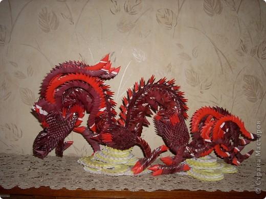 Мой дракон Бумага фото 1
