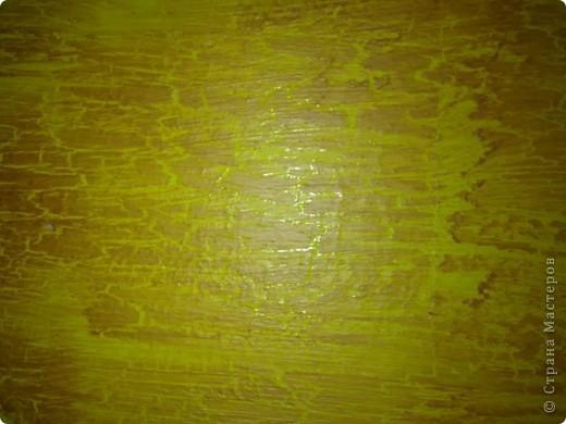 Не сфотографировала до покраски,извините! Покрасили стол на пару с любимым! краска акриловая + клец ПВА! фото 5