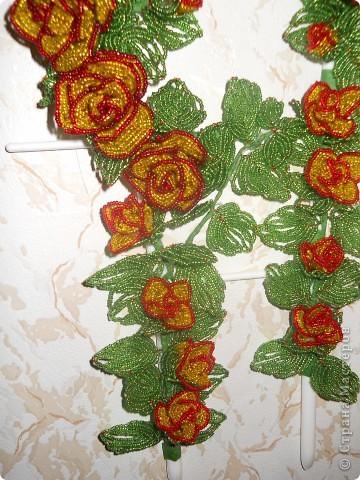 День рождения Бисероплетение Панно из бисера для мамы Бисер Проволока фото 3.