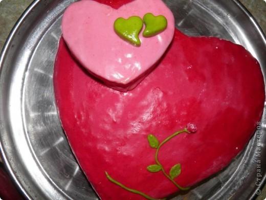 Торт Сердечный фото 1