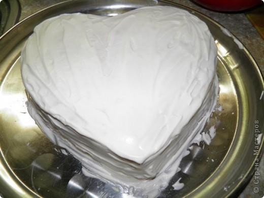 Торт Сердечный фото 7