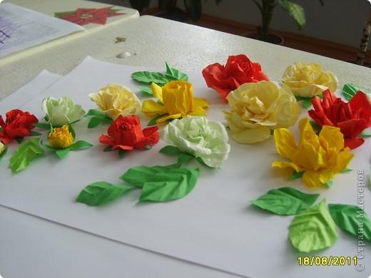 Почти настоящие розы фото 13