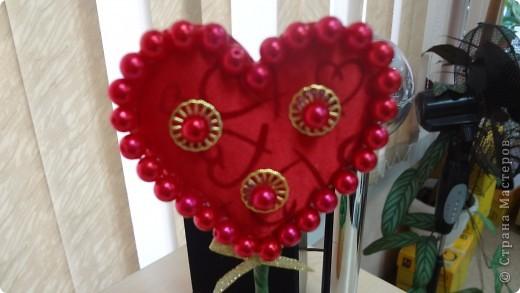 """Вот и мои """"валентинки"""". Делала колегам в подарок на одном дыхании за ночь. Подарены были утром. Все сфотографировать не успела. Поэтому пришлось снимать каждую уже на рабочих столах. фото 7"""