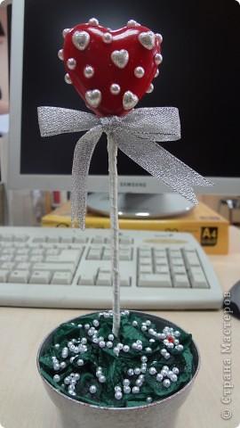 """Вот и мои """"валентинки"""". Делала колегам в подарок на одном дыхании за ночь. Подарены были утром. Все сфотографировать не успела. Поэтому пришлось снимать каждую уже на рабочих столах. фото 9"""