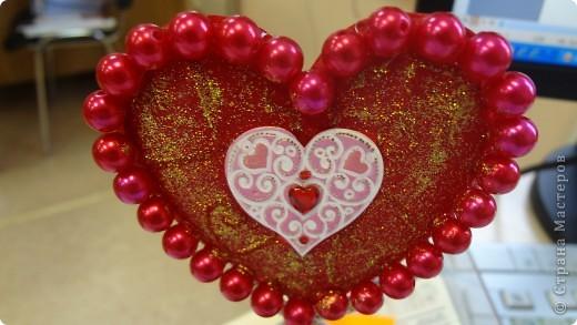 """Вот и мои """"валентинки"""". Делала колегам в подарок на одном дыхании за ночь. Подарены были утром. Все сфотографировать не успела. Поэтому пришлось снимать каждую уже на рабочих столах. фото 14"""