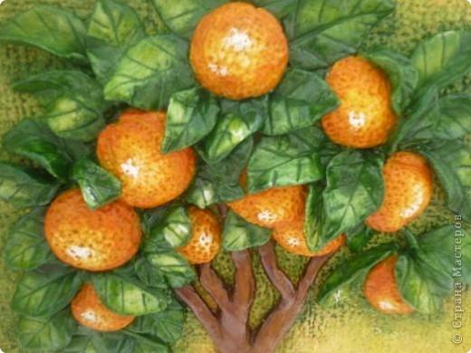Апельсиновое дерево и